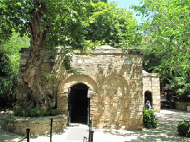 House of the Virgin Mary in Ephesus box