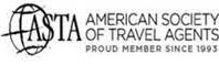 Active Member of the American Society of Travel Agents since 1993