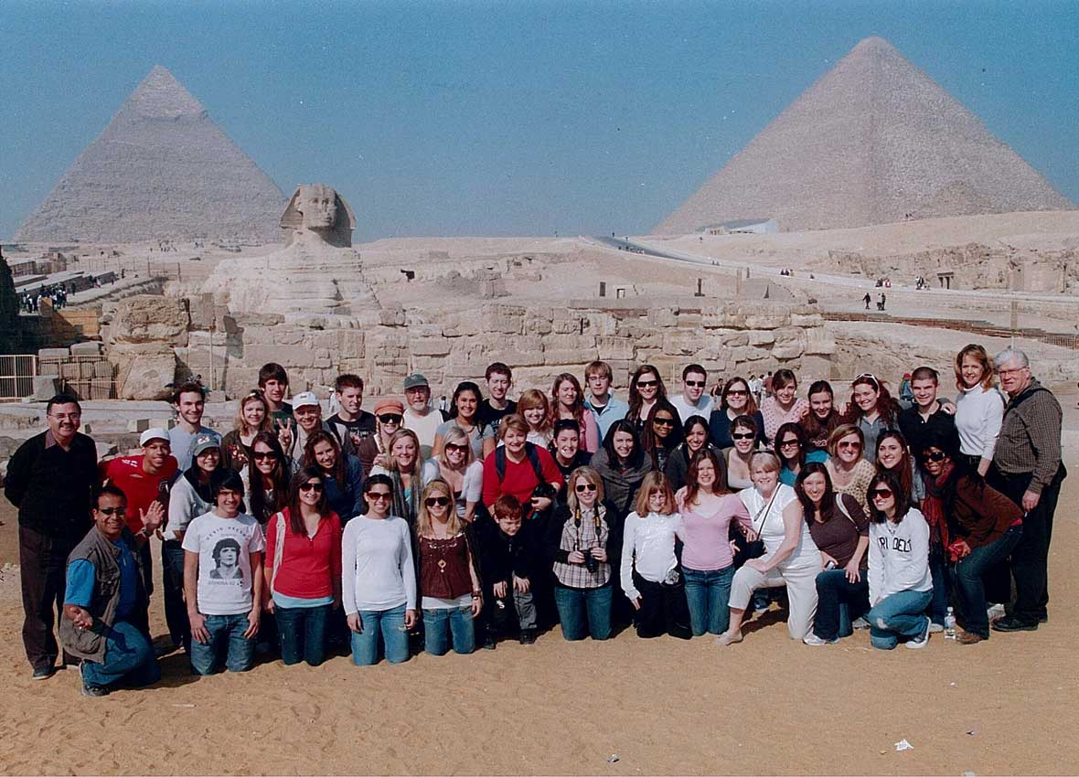 Group Photo Egypt, Feb 2006