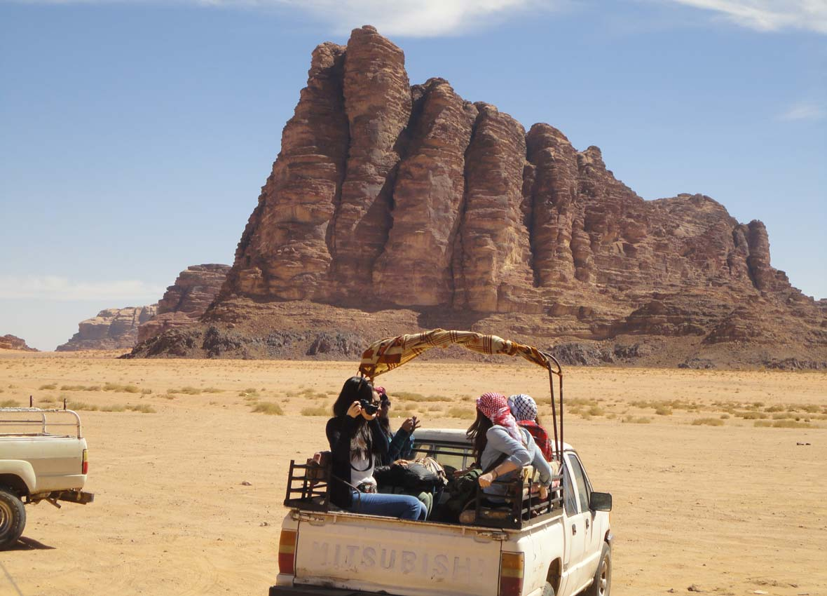 Jeep safari in Wadi Rum 4, Feb 2014